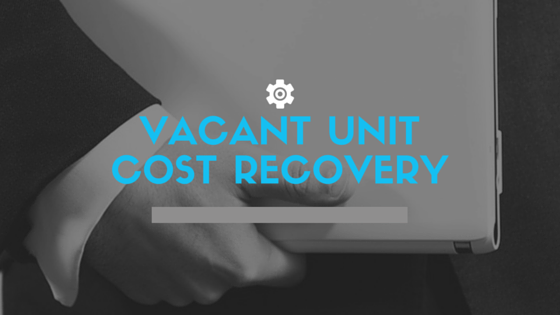 Vacant Unit Cost Recovery