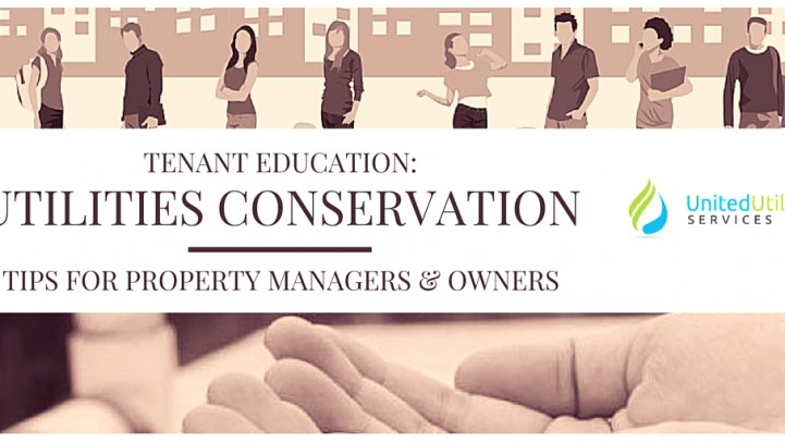Tenant Education For Owners: Utilities Conservation